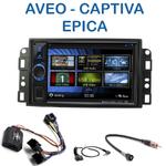 Autoradio 2-DIN Clarion Chevrolet Aveo de 2006 à 2010, Captiva depuis 2006 & Epica de 2006 à 2012 - VX404E