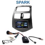 Autoradio 2-DIN Clarion Chevrolet Spark depuis 2010 - VX404E