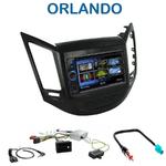 Autoradio 2-DIN Clarion Chevrolet Orlando depuis 2010 - VX404E