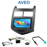 Autoradio 2-DIN GPS NX302E, NX405E, NX505E ou NX706E Chevrolet Aveo depuis 2011