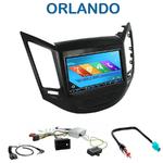 Autoradio 2-DIN GPS NX302E, NX405E, NX505E ou NX706E Chevrolet Orlando depuis 2010
