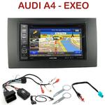 Pack autoradio GPS Audi A4 de 2002 à 2006 & Seat Exeo - INE-W990HDMI, INE-W710D, INE-W987D ou ILX-702D au choix