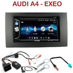 Autoradio 2-DIN Alpine Audi A4 de 01/2002 à 06/2006 et Seat Exeo - CDE-W296BT, IVE-W560BT OU IVE-W585BT AU CHOIX