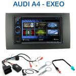 Autoradio 2-DIN Clarion Audi A4 de 01/2002 à 06/2006 et Seat Exeo - VX404E