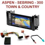 Pack autoradio GPS Chrysler 300, Aspen, Sebring et Town & Country depuis 2008 - INE-W990HDMI, INE-W710D, INE-W987D ou ILX-702D au choix