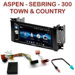 Autoradio 2-DIN Alpine Chrysler 300, Aspen, Sebring et Town & Country - CDE-W296BT, IVE-W560BT OU IVE-W585BT AU CHOIX