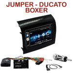 Autoradio 2-DIN Alpine Fiat Ducato Citroen Jumper et Peugeot Boxer depuis 05/2014 - CDE-W296BT, IVE-W560BT OU IVE-W585BT AU CHOIX