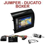 Autoradio GPS Citroën Jumper, Fiat Ducato et Peugeot Boxer depuis 05/2014 - INE-W990HDMI, INE-W710D, INE-W987D ou ILX-702D au choix