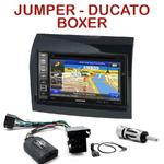 Autoradio GPS Citroën Jumper, Fiat Ducato et Peugeot Boxer de 2011 à 2013 - INE-W990HDMI, INE-W710D, INE-W987D ou ILX-702D au choix