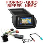Pack autoradio GPS Citroën Nemo, Fiat Fiorino & Qubo, Peugeot Bipper depuis 2008 - INE-W990HDMI, INE-W710D, INE-W987D ou ILX-702D au choix