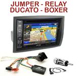 Pack autoradio GPS Citroën Jumper, Relay, Fiat Ducato & Peugeot Boxer - INE-W990HDMI, INE-W710D, INE-W987D ou ILX-702D au choix