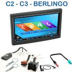 Autoradio 2-DIN GPS NX302E, NX405E, NX505E ou NX706E Citroen C2 & C3