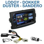 Autoradio 2-DIN Clarion Dacia Duster, Dokker, Lodgy & Sandero - VX404E