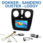 Autoradio 2-DIN GPS NX302E, NX405E, NX505E ou NX706E Dacia Lodgy Sandero Duster & Dokker