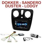 Autoradio 2-DIN Alpine Dacia Duster Lodgy Sandero et Dokker depuis 2012 - CDE-W296BT, IVE-W560BT OU IVE-W585BT AU CHOIX