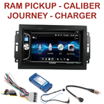 Autoradio 2-DIN Dodge Caliber Durango Grand Caravan, Journey Nitro et RAM Pickup - CDE-W296BT, IVE-W560BT OU IVE-W585BT AU CHOIX