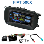 Autoradio 2-DIN Clarion Fiat 500X depuis 2014 - VX404E