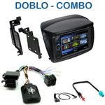 Autoradio 2-DIN Clarion Fiat Doblo & Opel Combo - VX404E