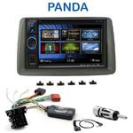 Autoradio 2-DIN Clarion Fiat Panda de 2003 à 2011 - VX404E