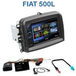 Autoradio 2-DIN Clarion Fiat 500L - VX404E