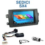 Autoradio 2-DIN GPS NX302E, NX405E, NX505E ou NX706E Suzuki SX4 et Fiat Sedici