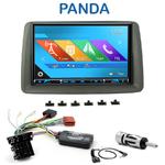 Autoradio 2-DIN GPS NX302E, NX405E, NX505E ou NX706E Fiat Panda de 2003 à 2012
