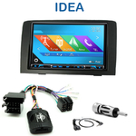 Autoradio 2-DIN GPS NX302E, NX405E, NX505E ou NX706E Fiat Idea depuis 2005