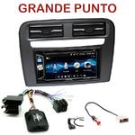 Autoradio 2-DIN Alpine Fiat Grande Punto depuis 2005 - CDE-W296BT, IVE-W560BT OU IVE-W585BT AU CHOIX