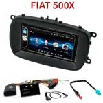 Autoradio 2-DIN Alpine Fiat 500X depuis 2014 - CDE-W296BT, IVE-W560BT OU IVE-W585BT AU CHOIX