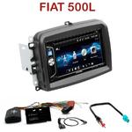 Autoradio 2-DIN Alpine Fiat 500L - CDE-W296BT, IVE-W560BT OU IVE-W585BT AU CHOIX