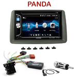 Autoradio 2-DIN Alpine Fiat Panda de 2003 à 2011 - CDE-W296BT, IVE-W560BT OU IVE-W585BT AU CHOIX