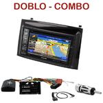 Autoradio GPS Fiat Doblo et Opel Combo depuis 2015 - INE-W990HDMI, INE-W710D, INE-W987D ou ILX-702D au choix