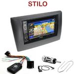 Pack autoradio GPS Fiat Stilo de 10/2001 à 05/2008 - INE-W990HDMI, INE-W710D, INE-W987D ou ILX-702D au choix