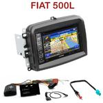 Pack autoradio GPS Fiat 500L  - INE-W990HDMI, INE-W710D, INE-W987D ou ILX-702D au choix
