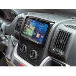 """Autoradio GPS Alpine 8"""" X802D-U ou X800D-U - Fiat Ducato, Citroën Jumper et Peugeot Boxer depuis 2008 - Kit d'intégration KIT-8DUC offert"""