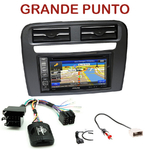 Autoradio GPS Fiat Grande Punto depuis 2005 - INE-W990HDMI, INE-W710D, INE-W987D ou ILX-702D au choix