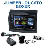 Autoradio 2-DIN Clarion Fiat Ducato, Citroen Jumper et Peugeot Boxer de 2011 à 05/2014 - VX404E