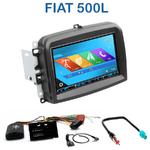 Autoradio 2-DIN GPS NX302E, NX405E, NX505E ou NX706E Fiat 500L
