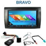 Autoradio 2-DIN GPS NX302E, NX405E, NX505E ou NX706E Fiat Bravo depuis 2007