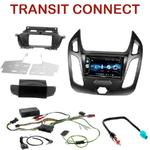 Autoradio 2-DIN Alpine Ford Transit Connect depuis 2014 - CDE-W296BT, IVE-W560BT OU IVE-W585BT AU CHOIX