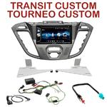 Autoradio 2-DIN Alpine Ford Tourneo Custom & Transit Custom depuis 11/2012 - CDE-W296BT, IVE-W560BT OU IVE-W585BT AU CHOIX