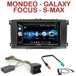 Autoradio 2-DIN Alpine Ford Mondeo, Focus, C-Max, S-Max & Galaxy - CDE-W296BT, IVE-W560BT OU IVE-W585BT AU CHOIX