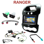 Pack autoradio GPS Ford Ranger depuis 2012 - INE-W990HDMI, INE-W710D, INE-W987D ou ILX-702D au choix