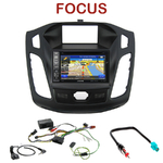 Pack autoradio GPS Ford Focus depuis 2011 - INE-W990HDMI, INE-W710D, INE-W987D ou ILX-702D au choix