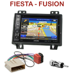 Pack autoradio GPS Ford Fiesta & Fusion avant 09/2005 - INE-W990HDMI, INE-W710D, INE-W987D ou ILX-702D au choix