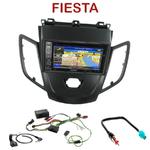 Pack autoradio GPS Ford Fiesta depuis 2009 - INE-W990HDMI, INE-W710D, INE-W987D ou ILX-702D au choix