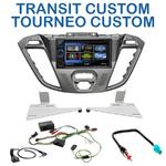 Autoradio 2-DIN Clarion Ford Tourneo Custom & Transit Custom depuis 11/2012 - VX404E