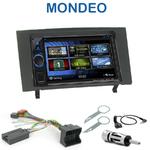 Autoradio 2-DIN Clarion Ford Mondeo de 06/2003 à 05/2007 - VX404E