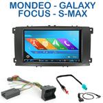 Autoradio 2-DIN GPS NX302E, NX405E, NX505E ou NX706E Ford Mondeo, Focus, S-Max & Galaxy