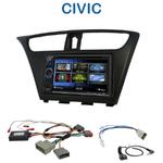 Autoradio 2-DIN Clarion Honda Civic 5 portes depuis 2012 - VX404E